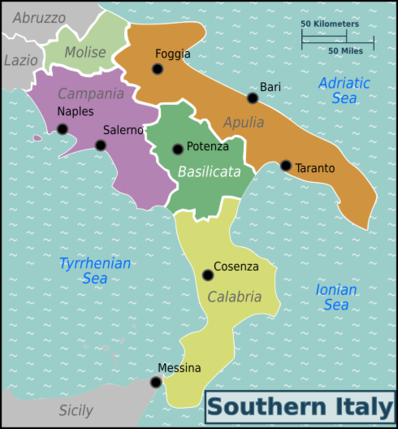 Wine Regions Italy Map.Italy Southern Wine Regions Sunflowers Cabernet